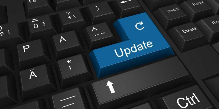 How often should I update my website?